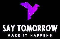 Logo Say Tomorrow