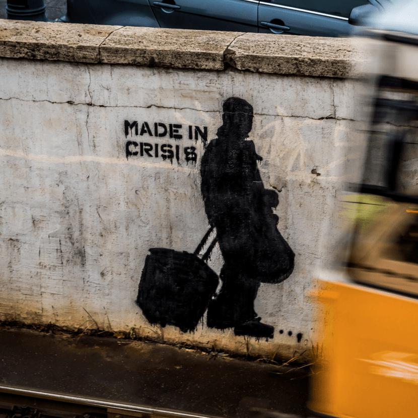 Graph crise