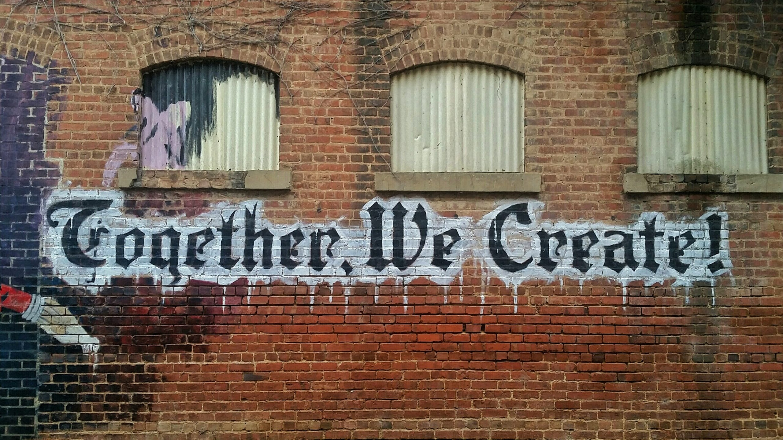 """Tag """"Together We Create"""""""