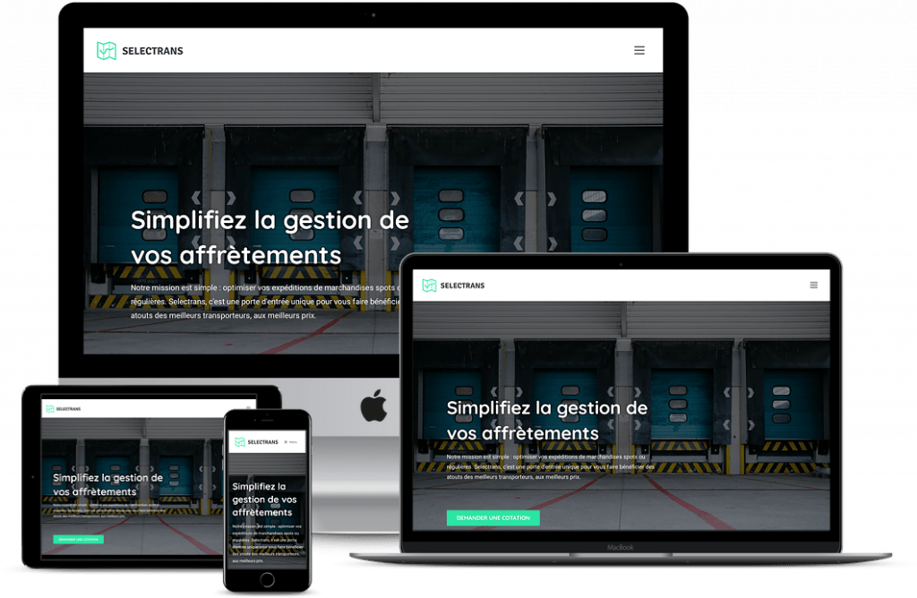 Site Selectrans responsive